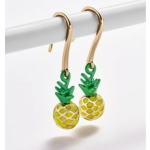Baublebar pineapple drop earrings